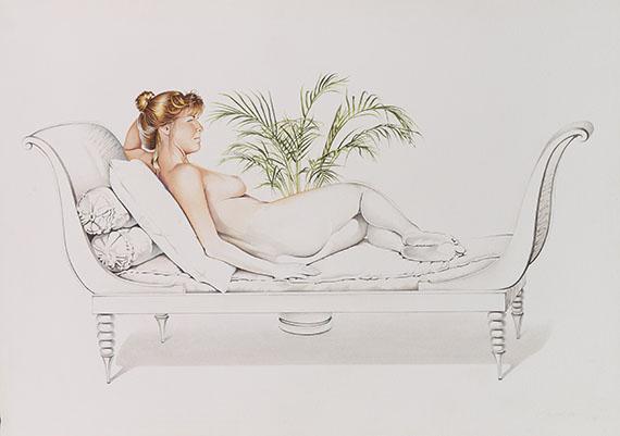 Mel Ramos - Unfinished Painting #7