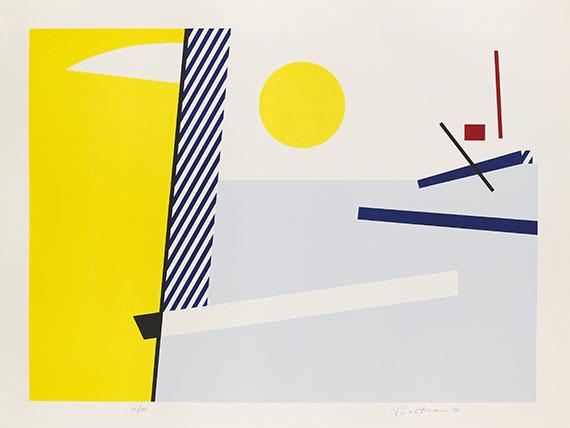 Roy Lichtenstein - Bull Head I - III - Weitere Abbildung