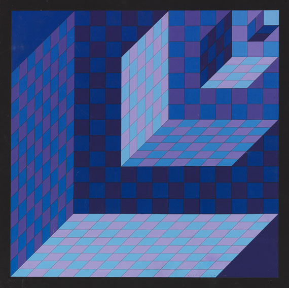 Victor Vasarely - AXO - NEW YORK