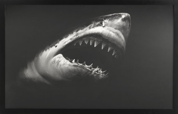 Robert Longo - Untitled (Shark 15) - Rahmenbild