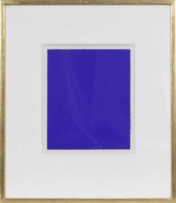 Yves Klein - Monochrome bleu (IKB 242 A) - Rahmenbild