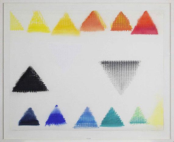 Heinz Mack - Ohne Titel - Rahmenbild