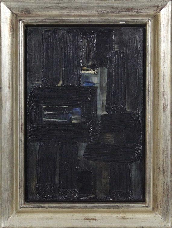 Pierre Soulages - Peinture 33 x 22, 1957 - Frame image