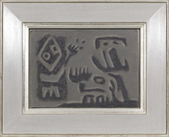 Willi Baumeister - Dialog (Gilgamesch-Thema) - Frame image