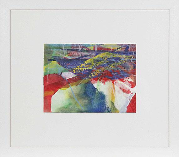 Gerhard Richter - Gebirge - Rahmenbild