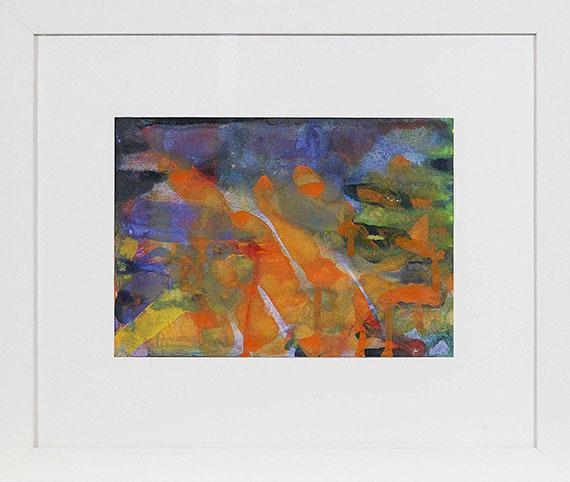 Gerhard Richter - Ohne Titel (17.Okt.1990) - Frame image