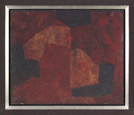 Serge Poliakoff - Composition abstraite - Frame image