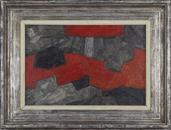 Serge Poliakoff - Composition abstraite - Frame image