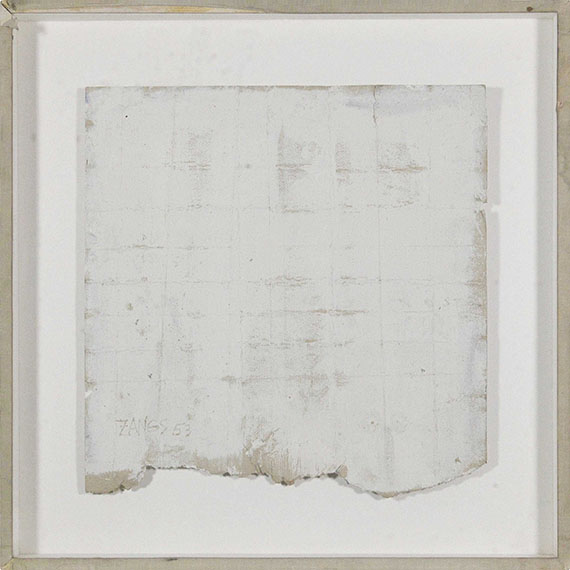 Herbert Zangs - Ohne Titel (Faltung) - Rahmenbild