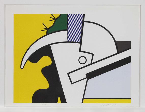 Roy Lichtenstein - Bull Head I - III - Rahmenbild