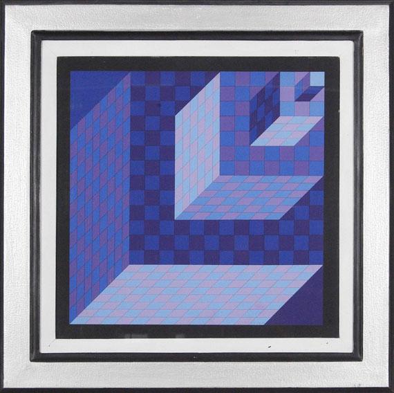 Victor Vasarely - AXO - NEW YORK - Rahmenbild