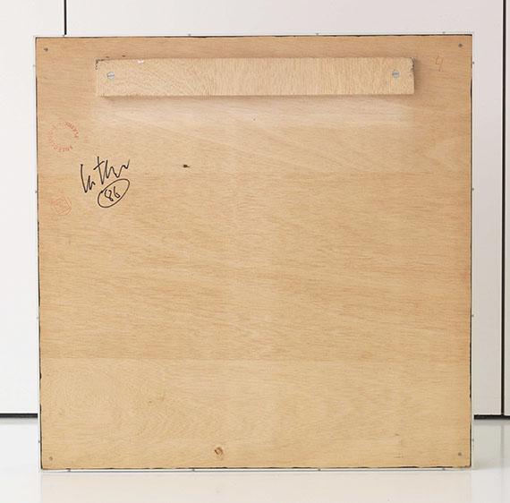 Adolf Luther - Hohlspiegelobjekt - Rückseite