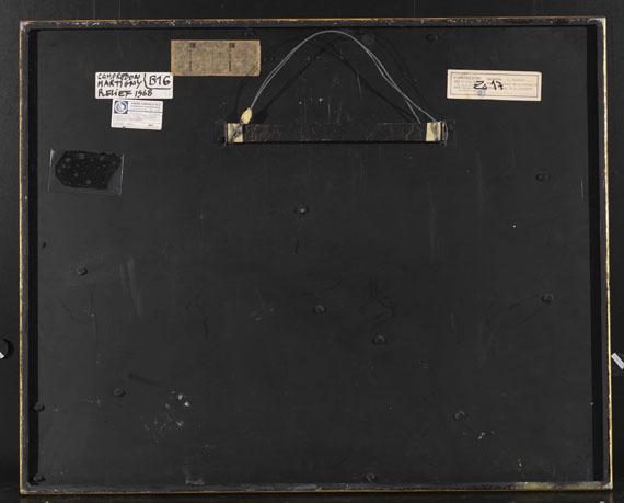 Serge Poliakoff - Relief - Rückseite