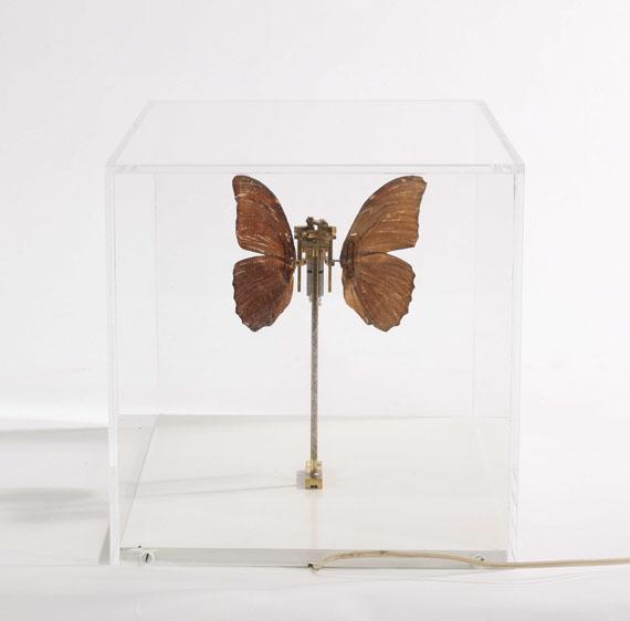 Rebecca Horn - Schmetterling - Rückseite