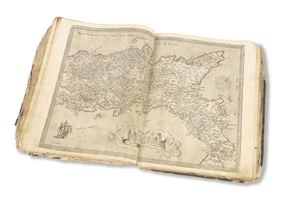 Abraham Ortelius - Theatrum orbis terrarum (beschädigtes Fragment)