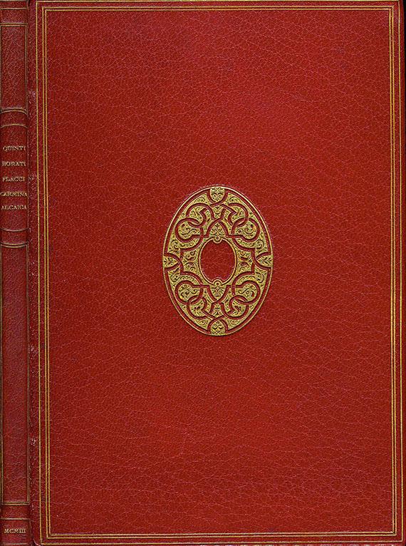 Quintus Horatius Flaccus - Carmina.