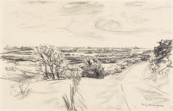 Max Liebermann - Küstenlandschaft  bei Noordwijk
