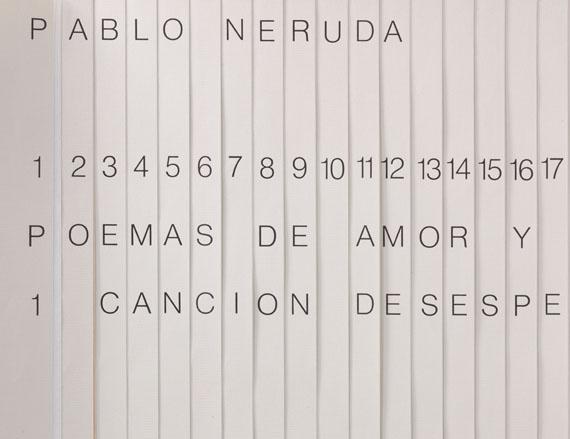 Kaldewey Press - Neruda: Poemas de amor -