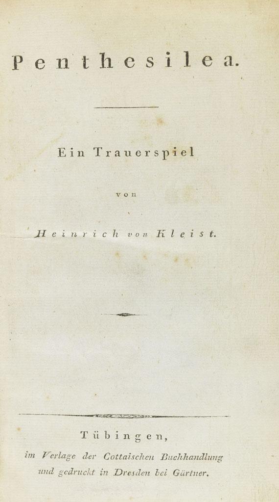 Heinrich von Kleist - Penthesilea - Weitere Abbildung