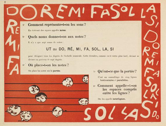 Pierre Bonnard - Terrasse, Claude, Petit solfège illustré