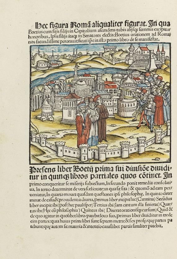 Anicius Manlius S. Boethius - De philosophico consolatu