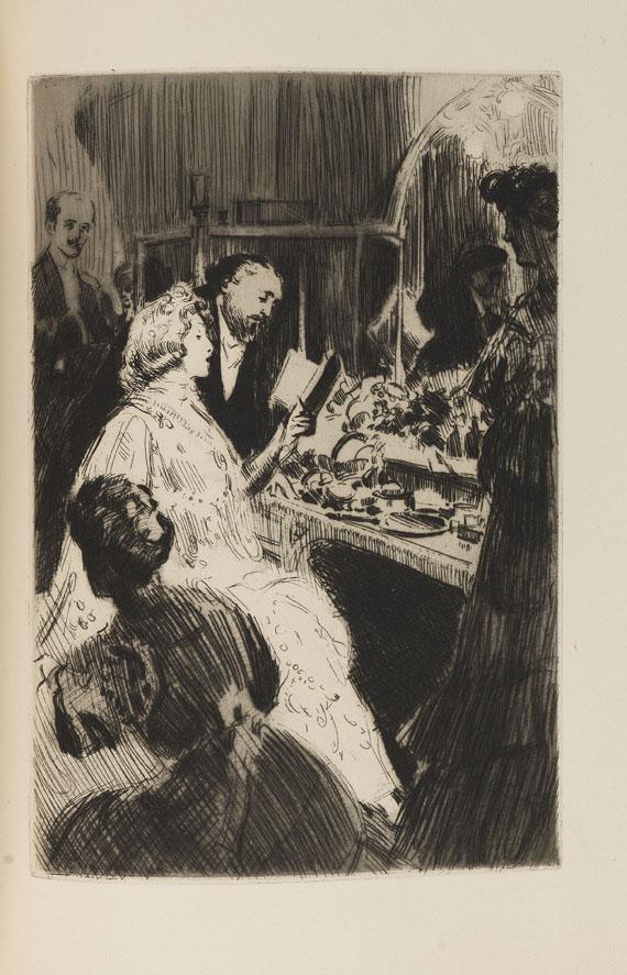 Albert Flament - Fauteuils et couloirs.