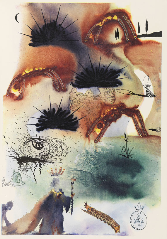 Salvador Dalí - Carroll - Alice's Adventures in Wonderland -