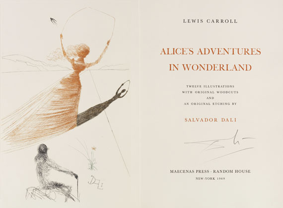 Salvador Dalí - Carroll - Alice's Adventures in Wonderland