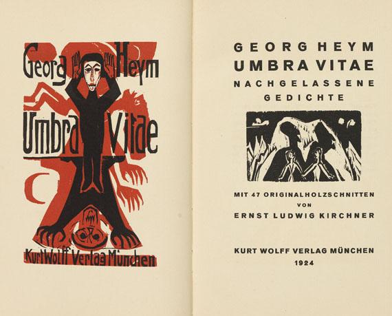 Ernst Ludwig Kirchner - Umbra Vitae.