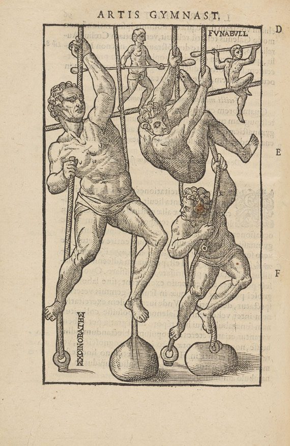 Giralomo Mercurialis - De arte gymnastica
