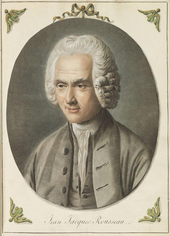 Jean-Jacques Rousseau - Collection complette des Oeuvres. 12 Bände