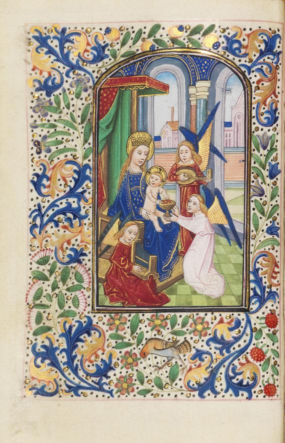 Manuskript - Book of Hours. Workshop Vrelant. Brügge ca. 1460. - Weitere Abbildung