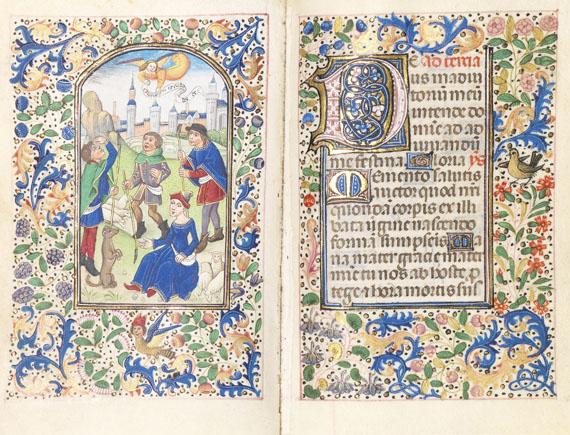 Manuskript - Book of Hours. Workshop Vrelant. Brügge ca. 1460.