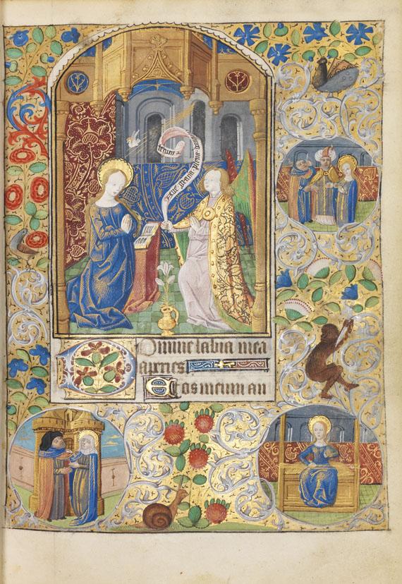 Manuskripte - Rouener Stundenbuch -