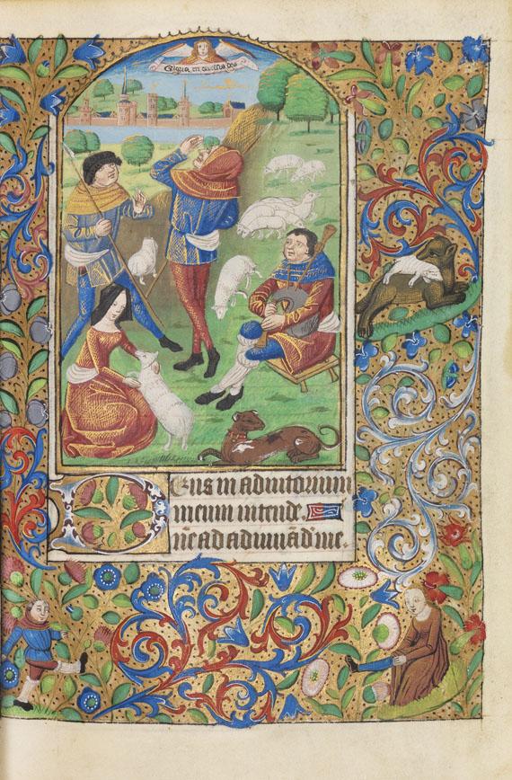 Manuskript - Rouener Stundenbuch - Weitere Abbildung