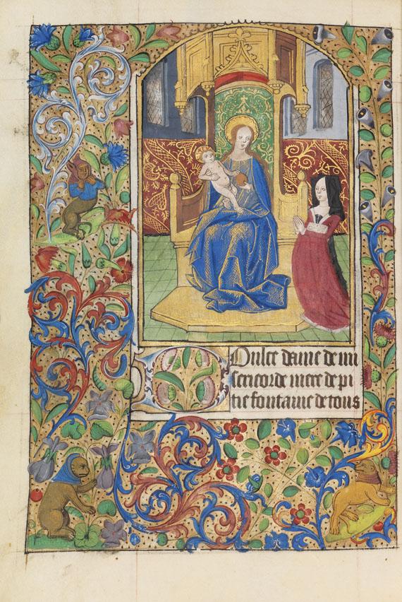 Manuskripte - Rouener Stundenbuch
