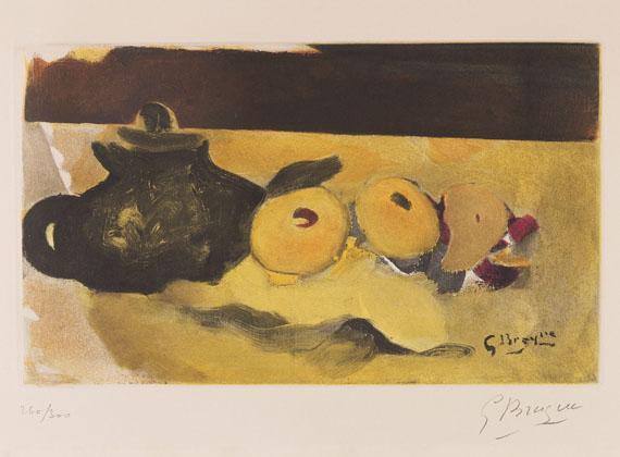 Georges Braque - La nappe jaune