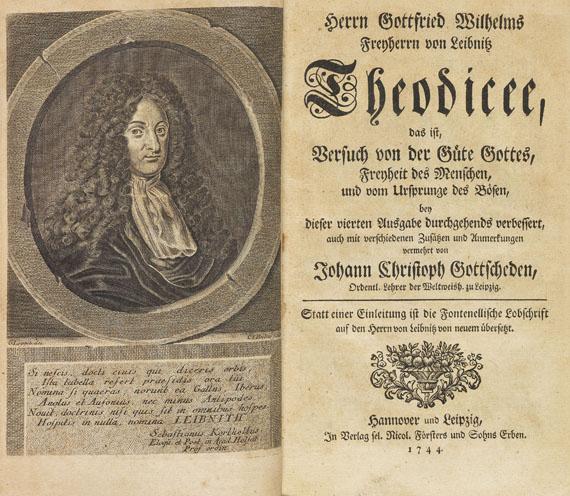 Gottfried Wilhelm Leibnitz - Theodicee