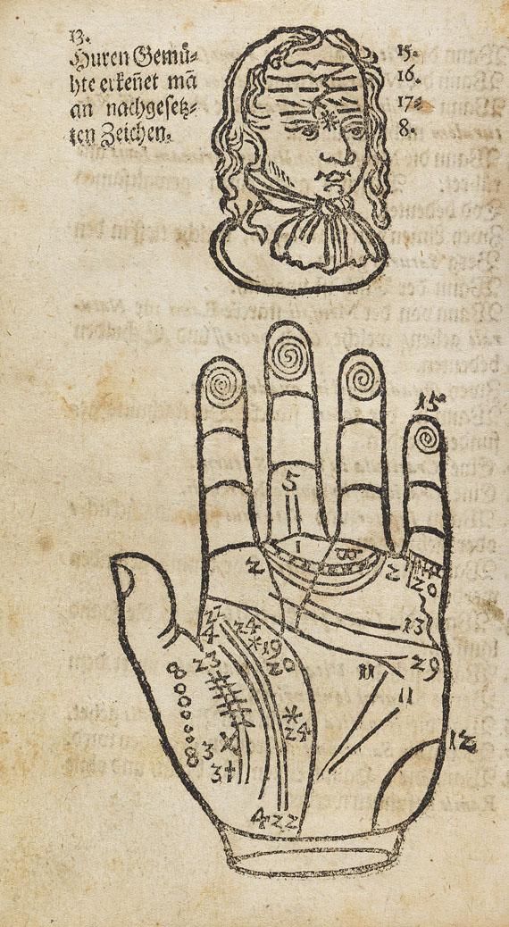 Johann Abraham Jacob Höping - Institiutiones Chiromanticae - Angeb.: Praetorius, J., Collegium curiosum