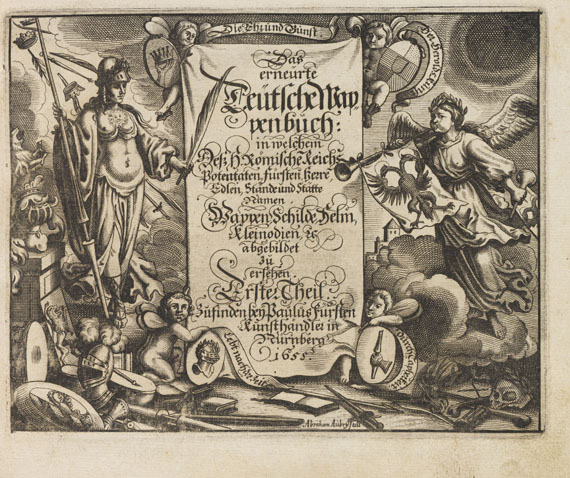 Johann Siebmacher - Das erneuerte deutsche Wappenbuch. 5 Bde. - Weitere Abbildung