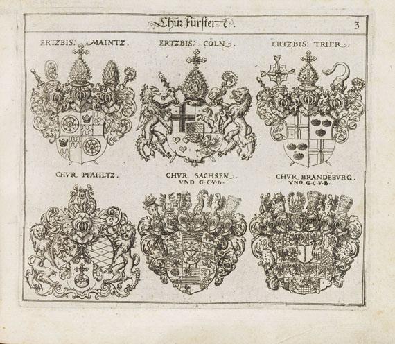 Johann Siebmacher - Das erneuerte deutsche Wappenbuch. 5 Bde.