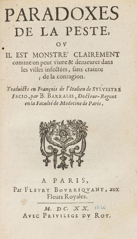 Ambrosius Paré - Traicte de la peste - Weitere Abbildung