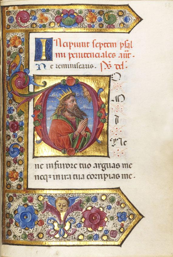 Stundenbuch Oberitalien 1490 - Stundenbuch Oberitalien