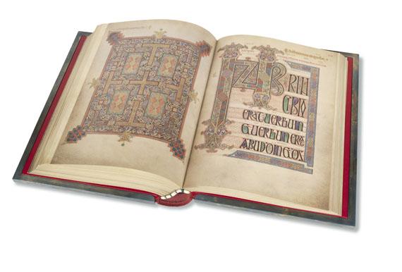 - Das Buch von Lindisfarne. Faksimile-Ausgabe - Weitere Abbildung