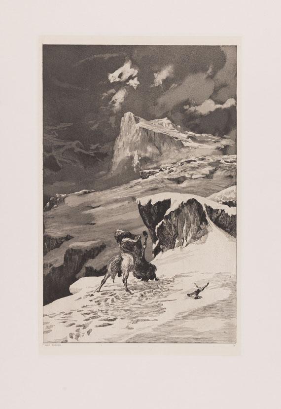 Max Klinger - Intermezzi. Dabei: Menzel, A., 12 Bll. Aus König Friedrichs Zeit