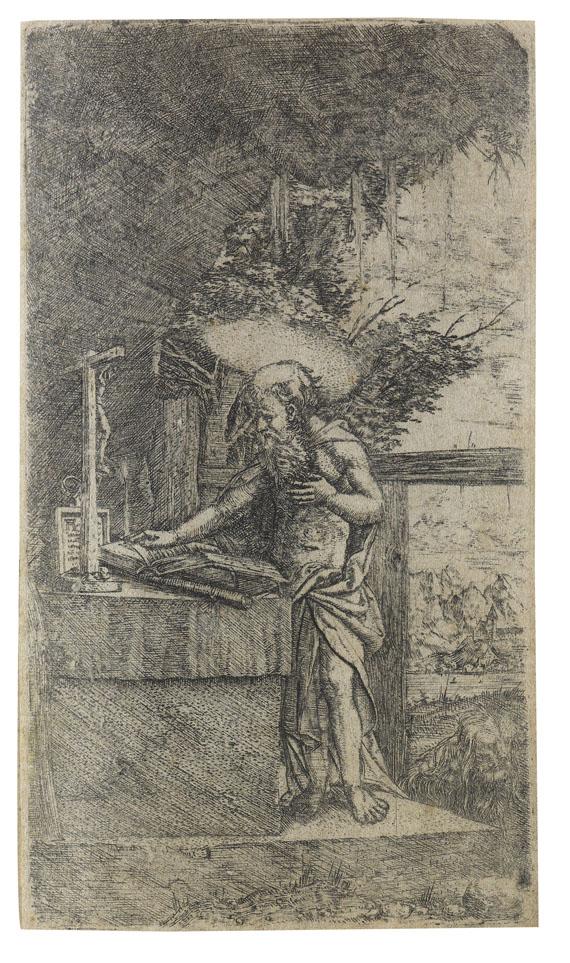 Albrecht Altdorfer - Der lesende heilige Hieronymus