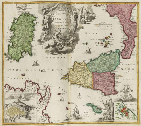 Johann Baptist Homann - Atlas novus terrarum orbis