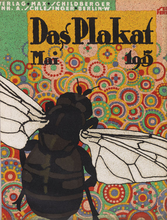 Plakat, Das - Das Plakat. 12 Jahrgänge