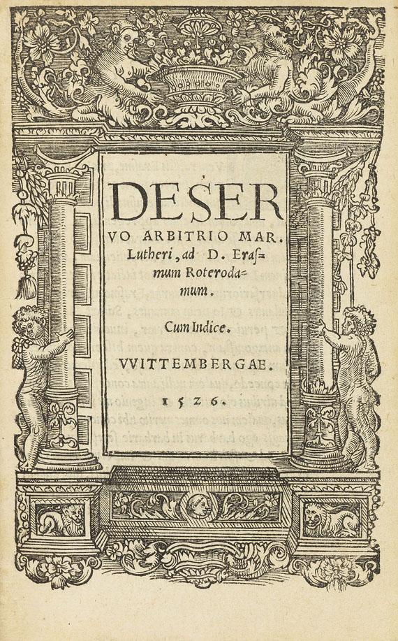 Philipp Melanchthon - Sammelband mit sieben Reformationsschriften