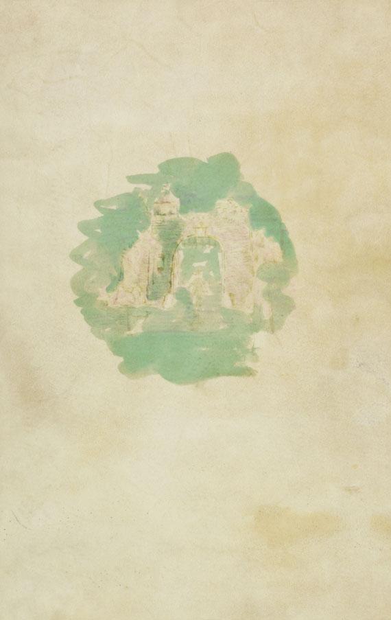 Joseph von Eichendorff - Aus dem Leben eines Taugenichts. Mit Aquarell von Preetorius auf Einband